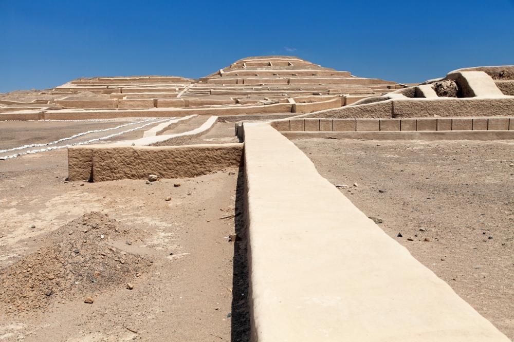 Le site archéologique de Cahuachi et ses pyramides