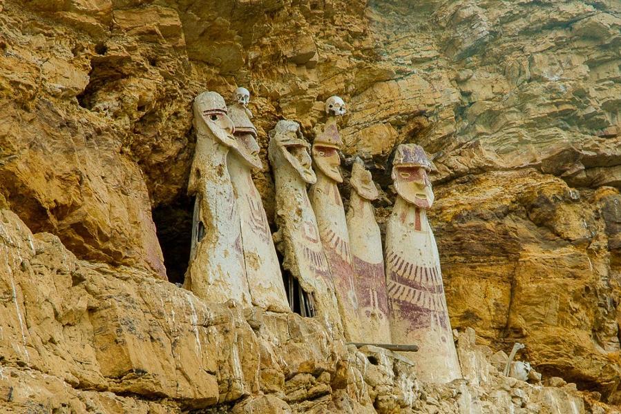 La culture Chachapoyas au Pérou