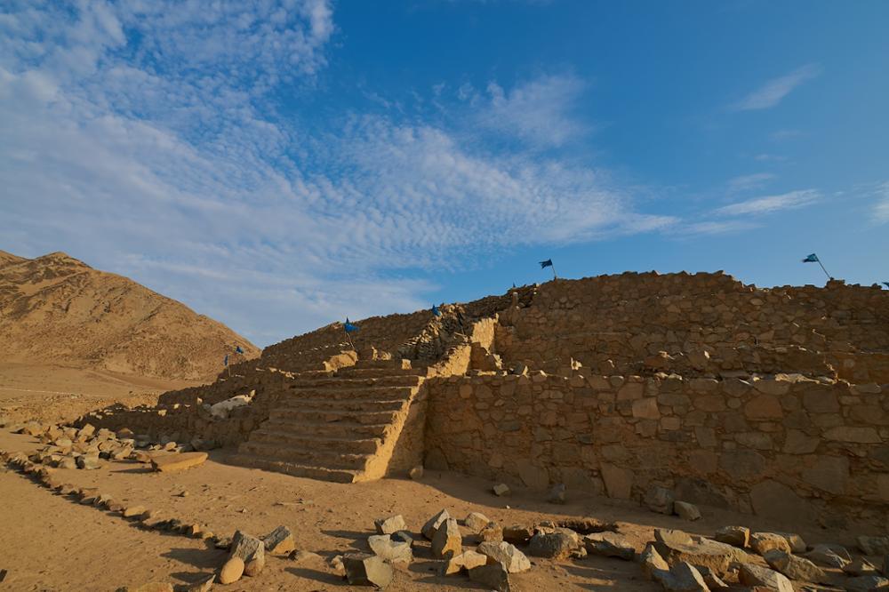 Le site archéologique de Caral au Pérou